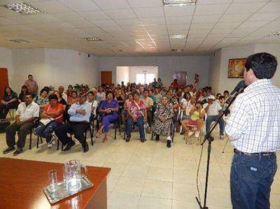 Entregaron 40 títulos de propiedad en Santo Tomé