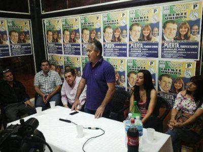Puerta y Velázquez intensifican la campaña para unificar al peronismo misionero hacia Octubre y 2015