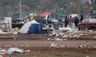 Después del recital de Solari necesitarán tres días para limpiar el Parque Agnesi