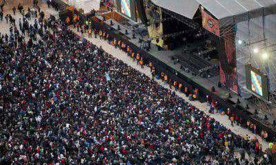 """Lo que el Indio dejó en Mendoza: un """"pogo"""" multitudinario y algunos desajustes vocales"""