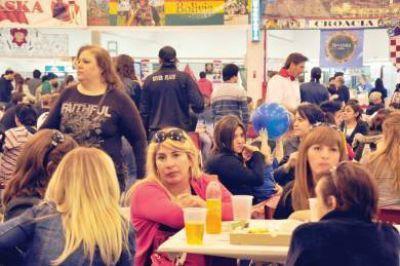 El acompañamiento del público superó expectativas en la Feria Gastronómica