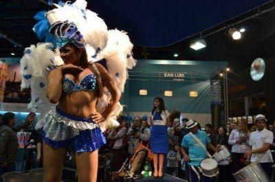 El Carnaval de Río en San Luis en la Feria de Turismo