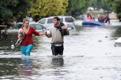 El gobierno bonaerense rechazó las acusaciones de Alfonsín sobre los damnificados por las inundaciones en La Plata