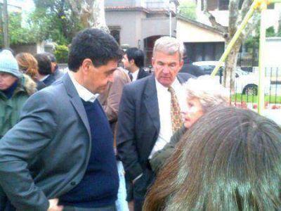 """El Municipio reinauguró la Plaza """"Combatientes de Malvinas"""" del bajo de Vicente López"""