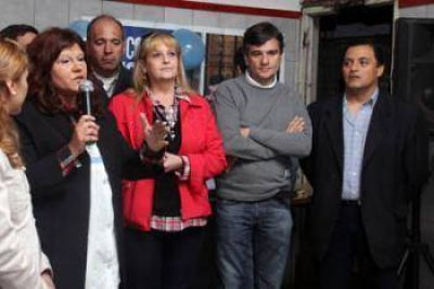 UNIR se sumó al apoyo de la lista del FPV que encabeza Zabaleta