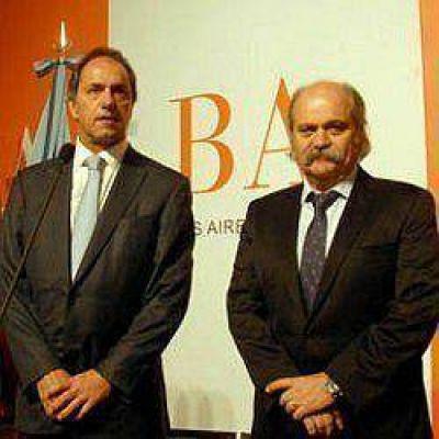 Massa y De Narváez respaldaron la designación de Granados en Seguridad