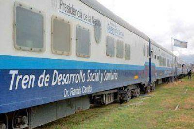 El Tren Sanitario llegó a Pergamino