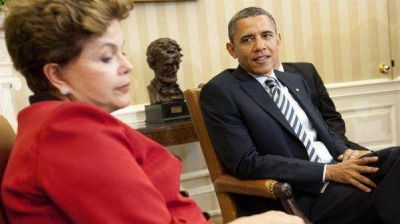 Rousseff habló con Obama y podría suspender su gira a EE.UU.
