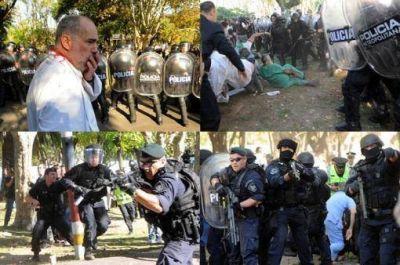 Indagaron a trabajadores de ATE por la represión en el Borda