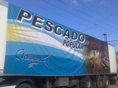 A partir de este miércoles Pescado y Lácteos Populares estará en el interior de Formosa