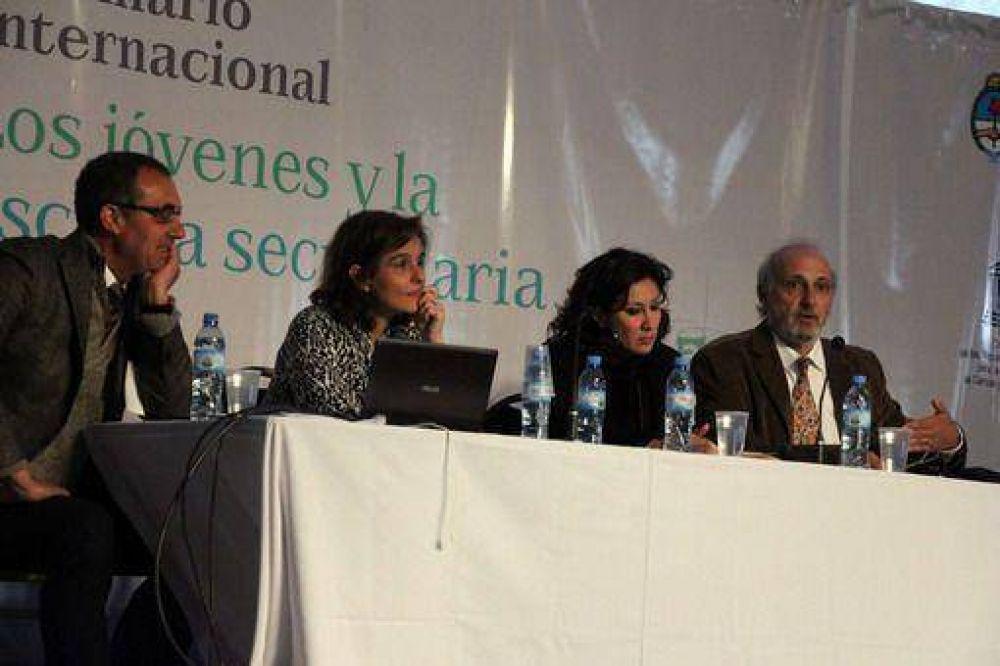 Mirar al sistema educativo desde el alumno: una de las conclusiones del seminario internacional sobre escuela secundaria