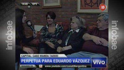 """La familia de Wanda Taddei, conforme con el fallo: """"Le sirve a la sociedad y a la Justicia"""""""