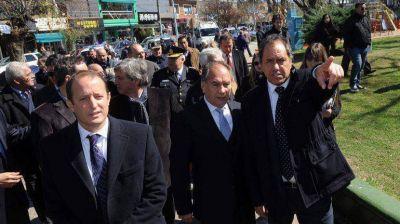 Scioli anunció la convocatoria para el Consejo Provincial de Seguridad