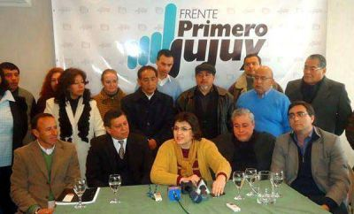 El Frente Primero Jujuy presentó sus candidatos por la Capital
