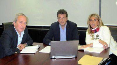 La primera foto de Massa candidato con entrerrianos