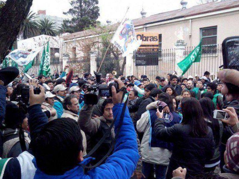 Marcharon los trabajadores judiciales