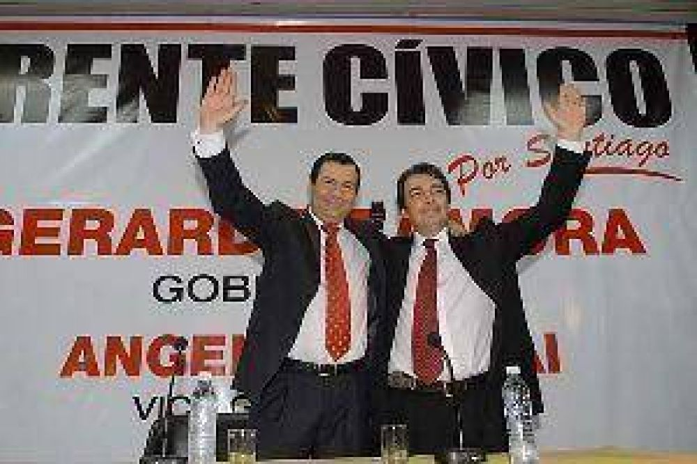 Hoy se presentará la fórmula del FC: Zamora-Niccolai, gobernador y vice