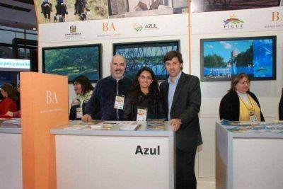 Azul participó de la Feria Internacional de Turismo de América