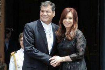 """""""Confiamos en Cristina, sabemos cómo piensa y siente"""", afirmó Correa"""