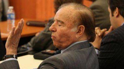 Definen si continúa o no el juicio contra Carlos Menem
