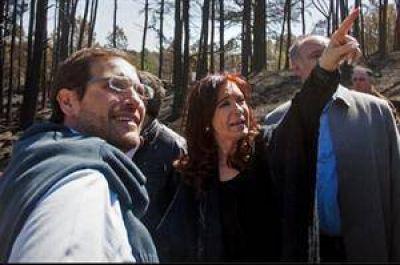 El fuego en Córdoba reavivó la disputa entre Cristina y De la Sota