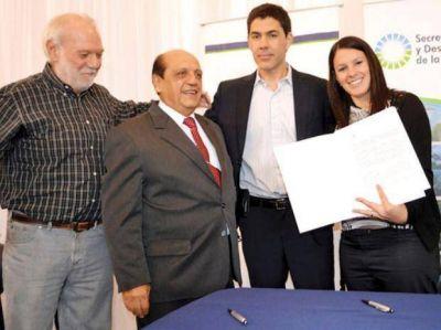 Nación invierte $ 10 millones para una planta de residuos en Baigorria