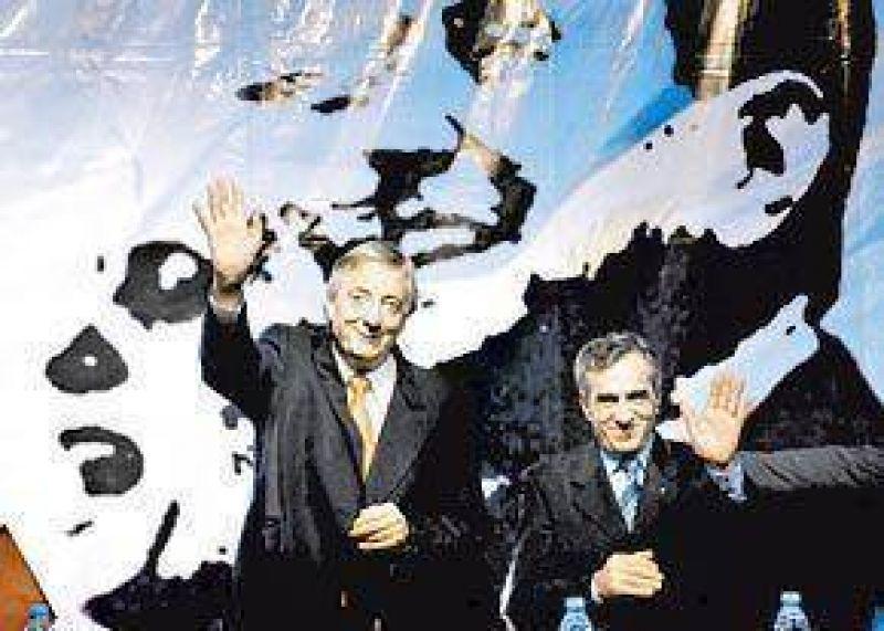 ACTO DE CAMPAÑA EN MALVINAS ARGENTINAS Con tono manso, Kirchner pidió a los bancos que bajen las tasas