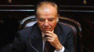 Absolvieron a Menem en la causa por las cuentas suizas
