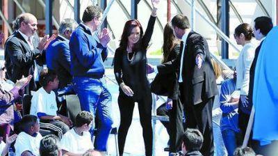 Guiño de Cristina a la política de seguridad en la Provincia