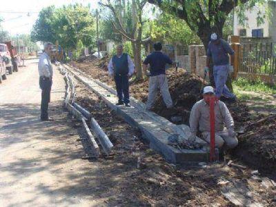 Se licitaron trabajos de cordón cuneta por casi 2 millones de pesos