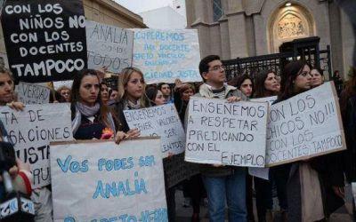 """Caso Gianelli: """"Hoy todos somos Analía"""""""