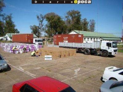 """Gendarmería recobró dos camiones robados por """"piratas del asfalto"""""""