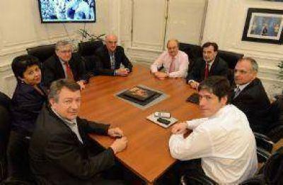 La delegación del FPV se reunió con Abal Medina