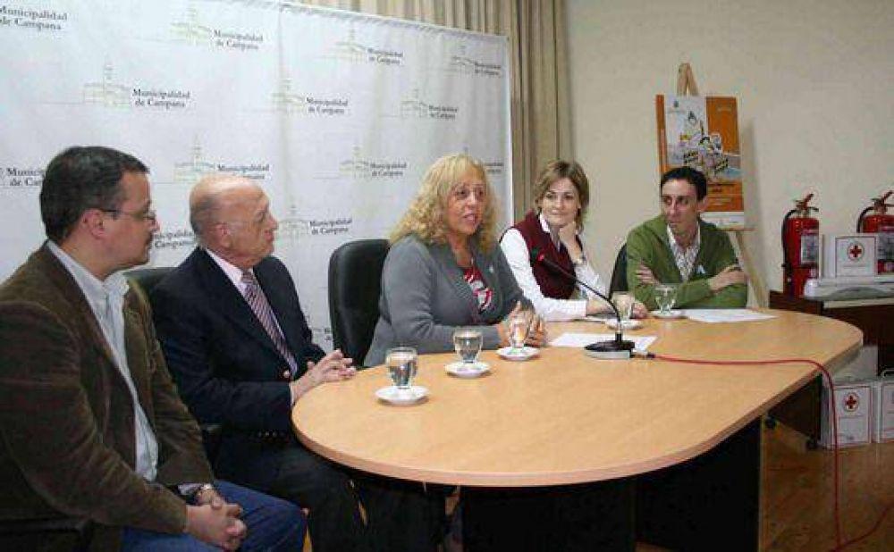 La Intendente Giroldi anunció un Plan de Seguridad Escolar