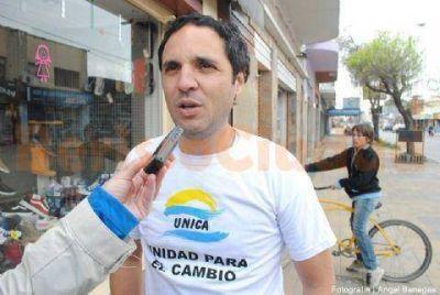 """Sebastián Mincarelli: """"Los vecinos quieren que les solucionen los problemas de todos los días"""""""