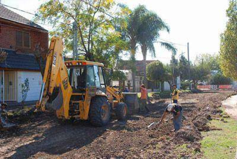 Nuevos asfaltos para los vecinos de Castelar
