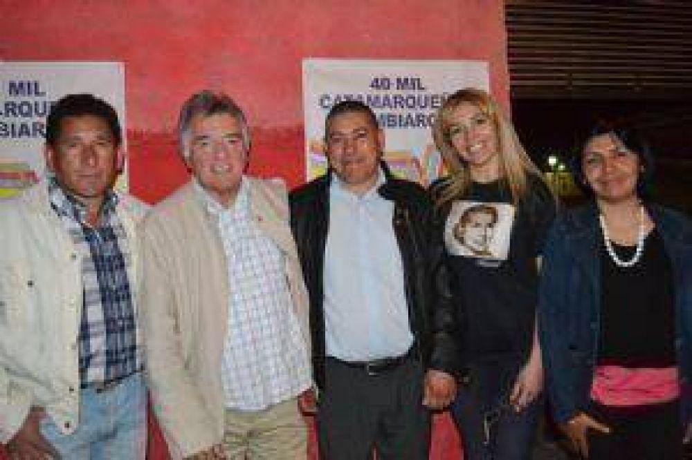 Barrionuevo visitó La Paz y criticó a la gobernadora