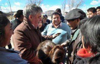 Das Neves agradeció el acompañamiento de pobladores de la Meseta y reiteró que privilegiará la integración