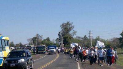 Con fe y esperanza, los jóvenes del NEA partieron hacia Itatí