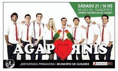 Quilmes: el show de Agapornis se pasó para el sábado 5 de octubre