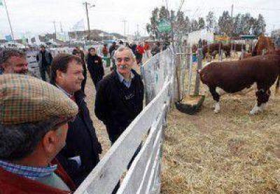 Weretilneck y Pichetto encabezaron la apertura de la 34ª Exposición Ganadera en Choele Choel