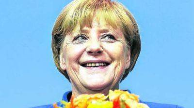 Merkel arras� y consigui� un tercer mandato en Alemania