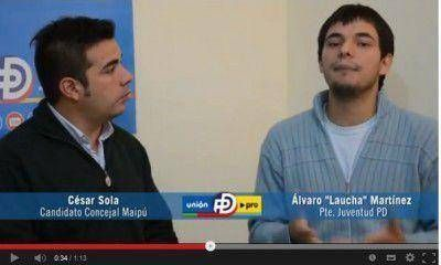 Con un video agresivo, el PD trata de sacarle votos al candidato de izquierda Nicolás Del Caño