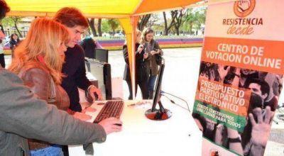 Aída Ayala abrió la votación del presupuesto participativo