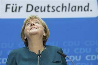 Merkel, ante la dif�cil tarea de formar una coalici�n