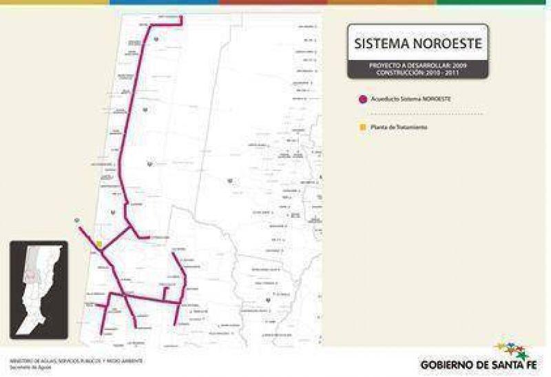 Analizar�n la factibilidad del acueducto que abastecer� el noroeste santafesino y el sureste santiague�o
