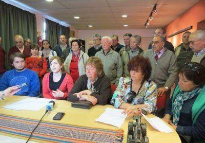 CPE: la lista Celeste presentó a sus candidatos