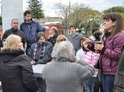 Nancy Katopodis se reunió con vecinos de Villa Lynch