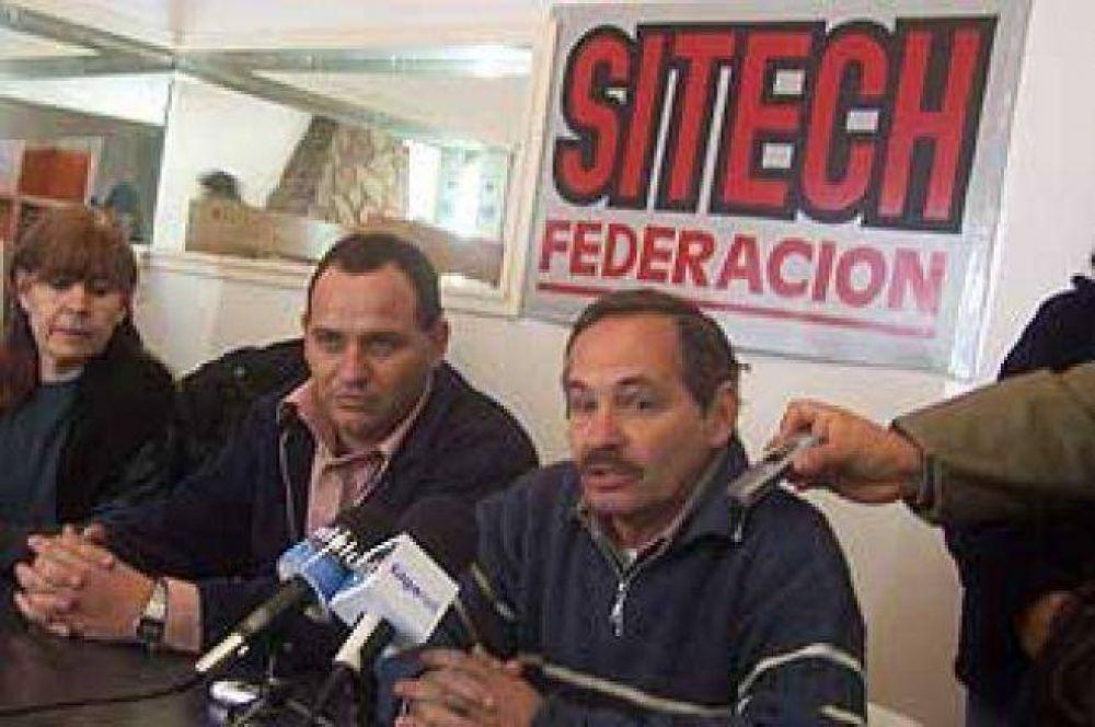 Federación Sitech inicia este miércoles un paro por 48 horas