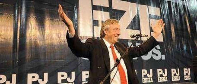 "Kirchner: ""Ante cada golpe pondremos la otra mejilla"""